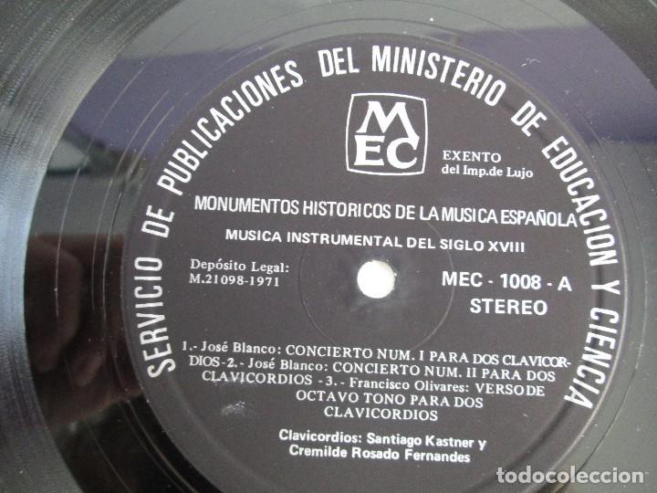 Discos de vinilo: MONUMENTOS HISTORICOS DE LA MUSICA ESPAÑOLA. 4LP VINILO. EL CANTO MOZARABE. MUSICA INSTRUMENTAL ... - Foto 26 - 107227371