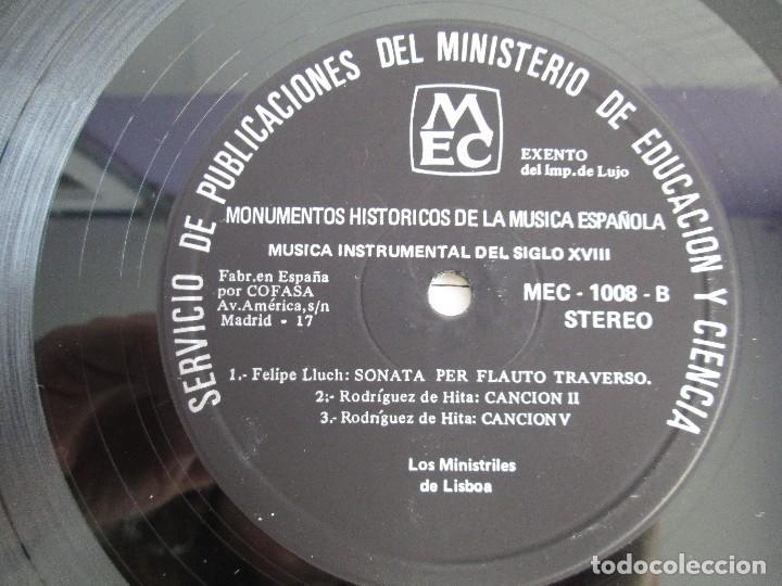 Discos de vinilo: MONUMENTOS HISTORICOS DE LA MUSICA ESPAÑOLA. 4LP VINILO. EL CANTO MOZARABE. MUSICA INSTRUMENTAL ... - Foto 28 - 107227371