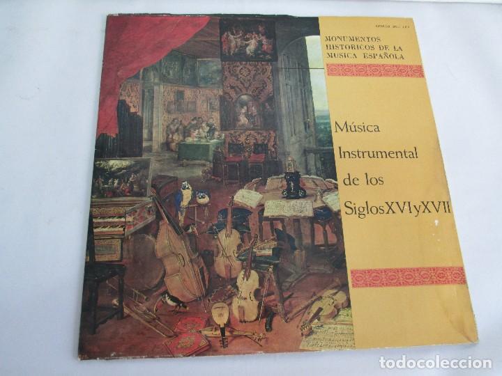Discos de vinilo: MONUMENTOS HISTORICOS DE LA MUSICA ESPAÑOLA. 4LP VINILO. EL CANTO MOZARABE. MUSICA INSTRUMENTAL ... - Foto 30 - 107227371