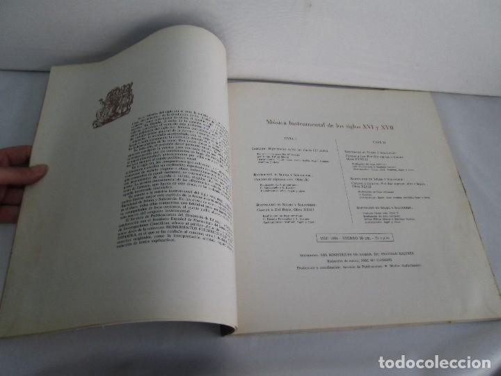 Discos de vinilo: MONUMENTOS HISTORICOS DE LA MUSICA ESPAÑOLA. 4LP VINILO. EL CANTO MOZARABE. MUSICA INSTRUMENTAL ... - Foto 32 - 107227371
