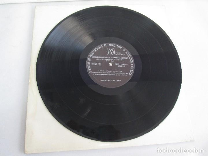 Discos de vinilo: MONUMENTOS HISTORICOS DE LA MUSICA ESPAÑOLA. 4LP VINILO. EL CANTO MOZARABE. MUSICA INSTRUMENTAL ... - Foto 35 - 107227371