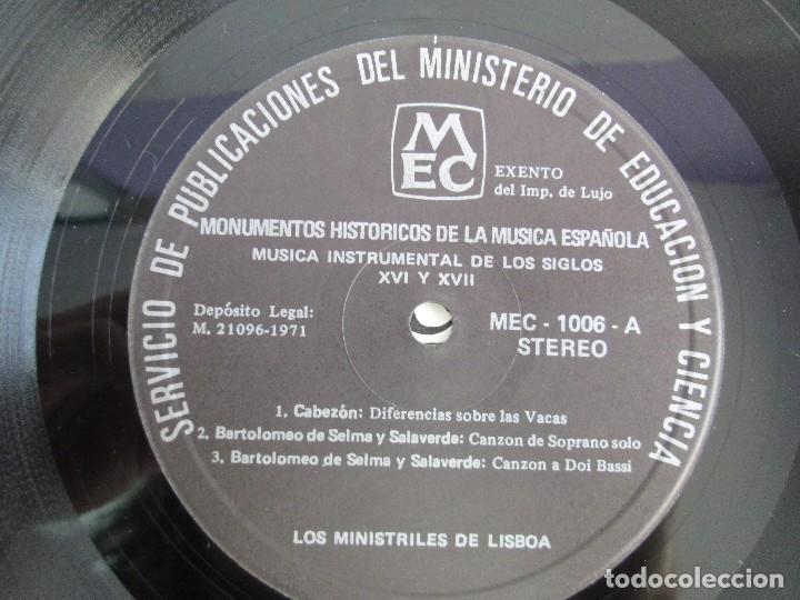 Discos de vinilo: MONUMENTOS HISTORICOS DE LA MUSICA ESPAÑOLA. 4LP VINILO. EL CANTO MOZARABE. MUSICA INSTRUMENTAL ... - Foto 36 - 107227371