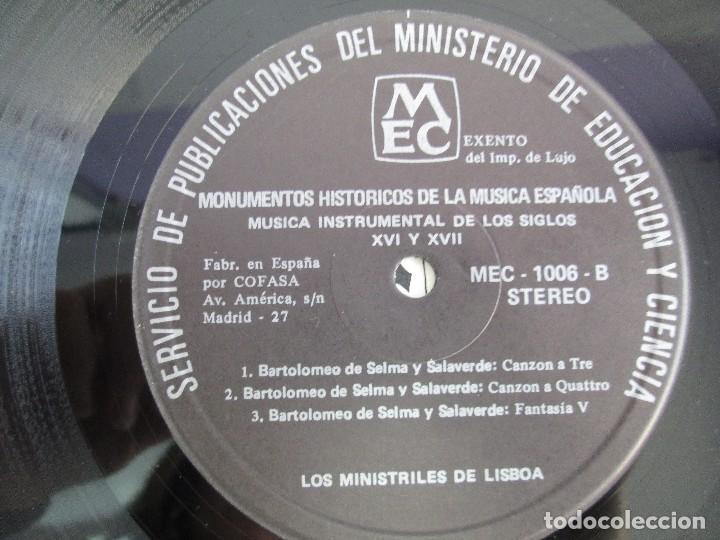 Discos de vinilo: MONUMENTOS HISTORICOS DE LA MUSICA ESPAÑOLA. 4LP VINILO. EL CANTO MOZARABE. MUSICA INSTRUMENTAL ... - Foto 38 - 107227371
