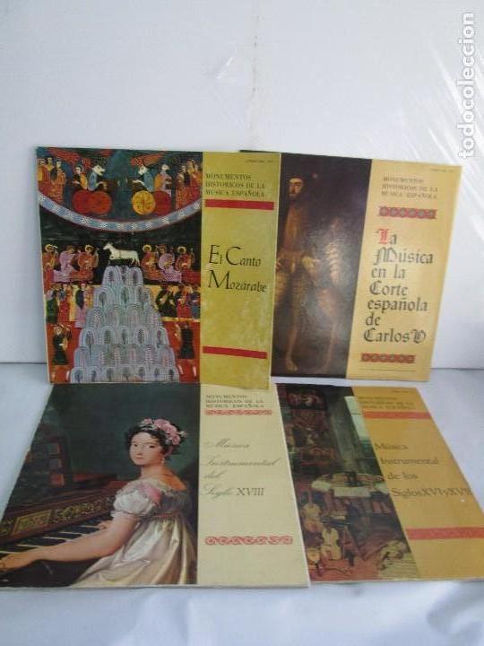 MONUMENTOS HISTORICOS DE LA MUSICA ESPAÑOLA. 4LP VINILO. EL CANTO MOZARABE. MUSICA INSTRUMENTAL ... (Música - Discos - LP Vinilo - Otros estilos)