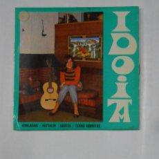 Discos de vinilo: IDOIA. KOBLAKARI KATTALIN / AGOTEA / TXANO GORRITXO. TDKDS9. Lote 140964940