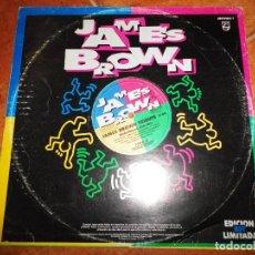 Discos de vinilo: JAMES BROWN JAMES BROWN TRIBUTE MAXI SINGLE VINILO PROMO ESPAÑA EDICION MUY LIMITADA KEITH HARING. Lote 107228503