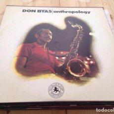 Discos de vinilo: DON BYAS -- ANTHROPOLOGY --LP-. Lote 107228819