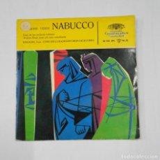 Discos de vinilo: NABUCCO. DEUTSCHE GRAMMOPHON. GIUSEPPE VERDI. TDKDS9. Lote 107229331