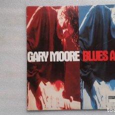 Discos de vinilo: GARY MOORE - BLUES ALIVE DOBLE LP 1993 CON POSTER EDICION EUROPEA. Lote 107231211