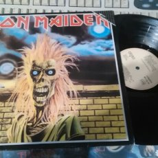 Discos de vinilo: IRON MAIDEN LP REEDICION FAMA ESPAÑA 1985. Lote 107233831