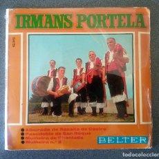 Discos de vinilo: IRMANS PORTELA. Lote 107238571