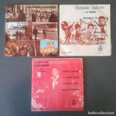 Discos de vinilo: LOTE EPS SINGLES ANTONIO LATORRE. Lote 107239359
