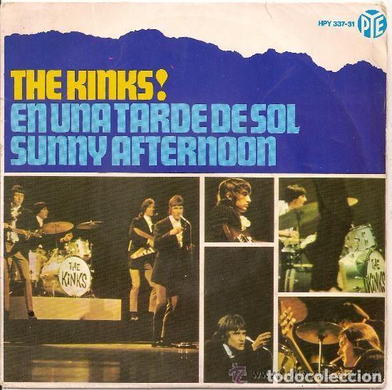 THE KINKS! EN UNA TARDE DE SOL (SUNNY AFTERNOON)+3 HISPAVOX ED. ESPAÑA 1966 (Música - Discos de Vinilo - EPs - Pop - Rock Internacional de los 50 y 60)