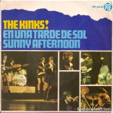 Discos de vinilo: THE KINKS! EN UNA TARDE DE SOL (SUNNY AFTERNOON)+3 HISPAVOX ED. ESPAÑA 1966. Lote 107271075