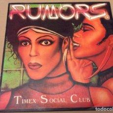 Discos de vinilo: TIMEX SOCIAL CLUB. RUMORS (REMIX). SPAIN POLYGRAM 1986.. Lote 107271543