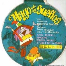 Discos de vinilo: EL MAGO DE LOS SUEÑOS - SOÑARAS + 3 TEMAS - EP BELTER 1966. Lote 107274479