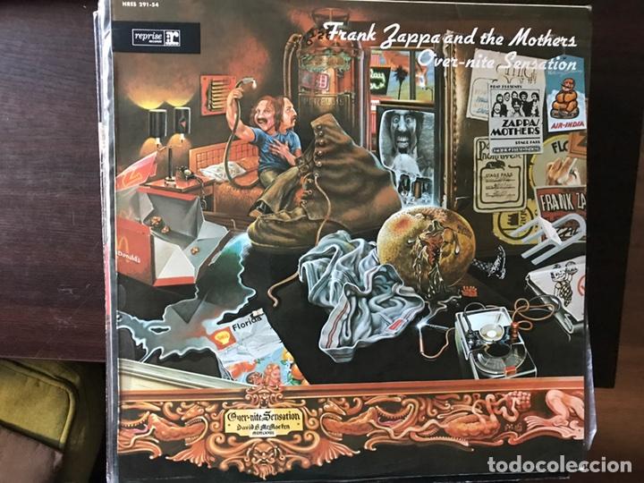 OVER-NITE SENSATION. FRANK ZAPPA (Música - Discos - LP Vinilo - Pop - Rock - Extranjero de los 70)