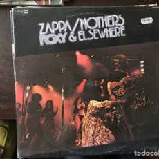 Discos de vinilo: ROXY & ELSEWHERE. FRANK ZAPPA. Lote 107296300