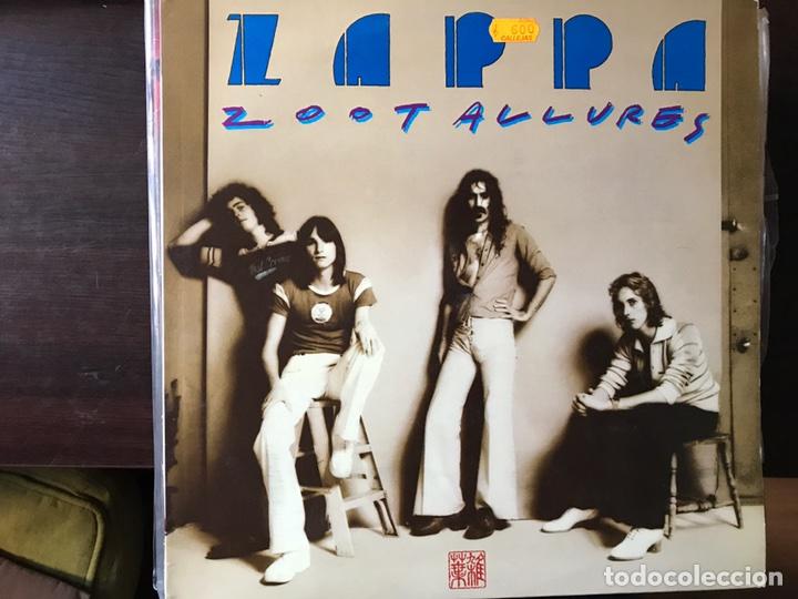 ZOOT ALLURES. FRANK ZAPPA (Música - Discos - LP Vinilo - Pop - Rock - Extranjero de los 70)