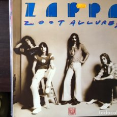 Discos de vinilo: ZOOT ALLURES. FRANK ZAPPA. Lote 107296324