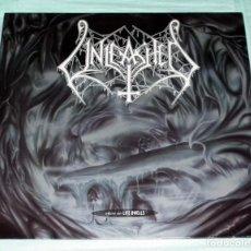Discos de vinilo: LP UNLEASHED - WHERE NO LIFE DWELLS. Lote 107297107
