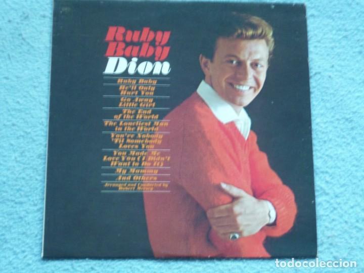 DION,RUBY BABY EDICION USA DEL 63 (Música - Discos - LP Vinilo - Pop - Rock Extranjero de los 50 y 60)