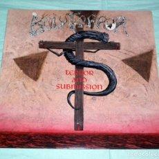 Discos de vinilo: LP HOLY TERROR - TERROR AND SUBMISSION . Lote 107298087