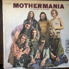 Discos de vinilo: MOTHERMANIA. FRANK ZAPPA. Lote 107300194