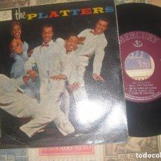 Discos de vinilo: THE PLATTERS HAVE MERCY + 3 EP MERCURY – MG-10.003(MERCURY 1959 ) OG ESPAÑA. Lote 107300691