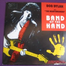 Dischi in vinile: BOB DYLAN & THE HEARTBREAKERS SG MCA 1986 PROMO - BAND OF THE HAND - BSO TOM PETTY . Lote 107304167