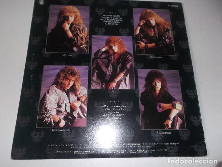 Discos de vinilo: SANGRE AZUL CUERPO A CUERPO 1988 HISPAVOX - Foto 4 - 107305591