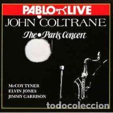 Discos de vinilo: JOHN COLTRANE - THE PÀRIS CONCERT - LP VINILO. Lote 107313055