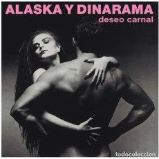 Dischi in vinile: ALASKA Y DINARAMA - DESEO CARNAL - LP VINILO. Lote 107313259