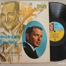 Discos de vinilo: FRANK SINATRA REMEMBER TOMMY DORSEY LP VINYL MADE IN SPAIN 1968. Lote 107313427