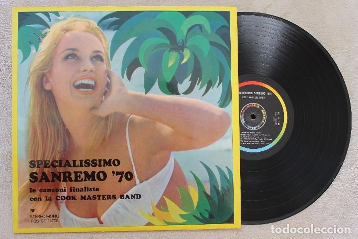 SPECIALISSIMO SAN REMO 70 LP VINYL MADE IN ITALY 1970 (Música - Discos - LP Vinilo - Otros Festivales de la Canción)
