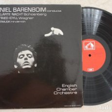 Discos de vinilo: DANIEL BARENBOIM NOCHE TRANSFIGURADA OP. 4 LP VINYL MADE IN SPAIN 1971. Lote 107315515