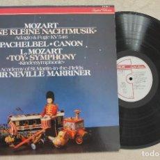 Discos de vinilo: MOZART PACHELBEL LEOPOLD MOZART ACADEMY OF ST.MARTIN-IN-THE-FIELDS LP VINYL MADE IN NETHERLAND 1984. Lote 107316083