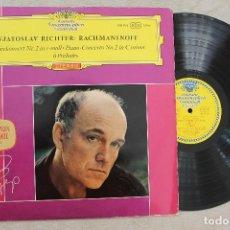 Discos de vinilo: SVIATOSLAV RICHTER RACHMANINOFF LP VINYL MADE IN GERMANY . Lote 107316675