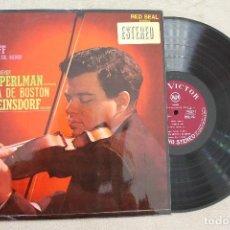 Discos de vinilo: PROKOFIEFF - SIBELIUS ORQUESTA SINFONICA DE BOSTON LP VINYL MADE IN SPAIN 1968. Lote 107316963