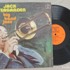 Discos de vinilo: JACK TEAGARDEN BIG BAND JAZZ LP VINYL MADE IN USA 1979 . Lote 107317519