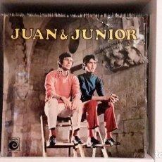 Discos de vinilo: JUAN & JUNIOR - BRINCOS. Lote 107348491