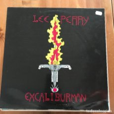 Discos de vinilo: LEE PERRY - EXCALIBURMAN - LP SEVEN LEAVES 1989. Lote 107349711