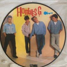 Discos de vinilo: HOMBRES G – EXITOS PICTURE. Lote 107357631