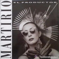 Discos de vinilo: MARTIRIO - EL PRODUCTOR - MAXI-SINGLE SPAIN 1988 . Lote 107360575