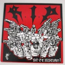 Discos de vinilo: LP R.I.P. - NO TE MUEVAS. Lote 107364179