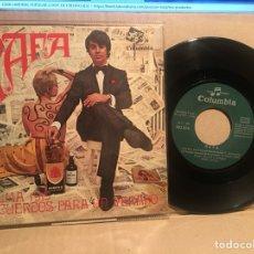 Discos de vinilo: RAFA SINGLE PALMA + RECUERDOS PARA UN VERANO. Lote 107384019