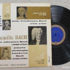 Discos de vinilo: LA FAMILLE BACH ENSEMBLE ARS REDIVIVA DE PRAGUE DIR.MILAN MUNCLINGER LP VINYL MADE IN CZECHOSLOVAKIA. Lote 107397971