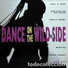 Discos de vinilo: VARIOUS - DANCE ON THE WILD SIDE (LP, COMP) LABEL:EPIC CAT#: 466904 1 . Lote 107429079