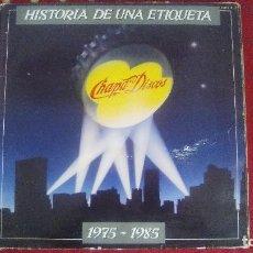 Discos de vinilo: CHAPA DISCOS HISTORIA DE UNA ETIQUETA 1975 1985 - DOBLE LP VINILO. Lote 107430995
