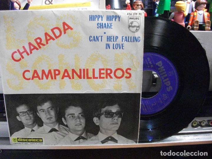 LOS SONOR CAMPANILLEROS /HIPPY H.SHAKE EP SPAIN 1964 PEPETO TOP (Música - Discos de Vinilo - EPs - Grupos Españoles 50 y 60)